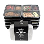 High-quality food containers built to last so that you can reach your fitness milestones. Each California Home Goods meal container is built with high-grade plastic to enhance its durability and flexibility. Wash 'em, fill 'em, stack 'em in t...