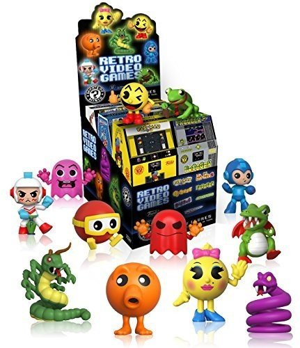 Funko Mystery Mini: Retro Games Series 1 One Toy Figures