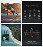 Wingsland M5 Drone With 2.4GHz,WiFi FPV APP Control 720P Camera , Brushless Quadcopter Flying Time17mins,GPS-Assited Hover,Easy to Back Controler-Follow You to Take Photo-MOONHOUSE