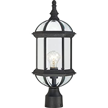 Nuvo lighting 604976 boxwood one light post lantern 100 watt a19 nuvo lighting 604976 boxwood one light post lantern 100 watt a19 max clear aloadofball Gallery