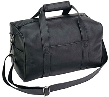 Amazon.com | 14 Small Overnight Leatherette Travel Bag | Travel ...