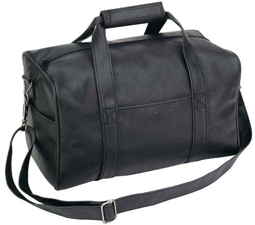 Small Overnight Leatherette Travel Bag