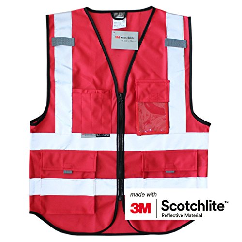Salzmann 3M Multi Pocket Working Vest Working Uniform