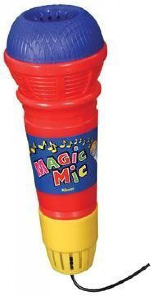 Magic Mic Novelty Toy Echo Microphone-Pack of 2 Toysmith