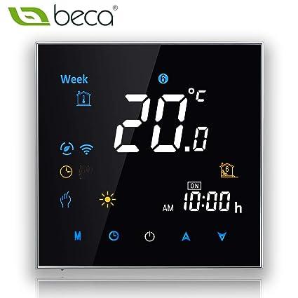 BECA 3000 Serie 3 / 16A LCD Pantalla táctil Agua / Eléctrico / Caldera Calefacción Programación