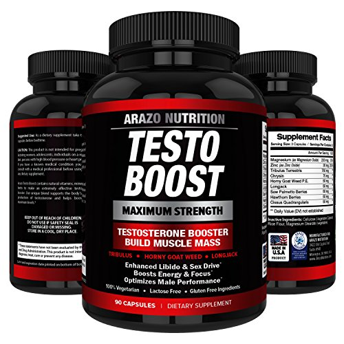 TESTOBOOST Supplement Tribulus Arazo Nutrition product image