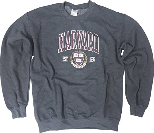 Harvard University Sweatshirt College Harvard Crewneck Sweat shirt AH L