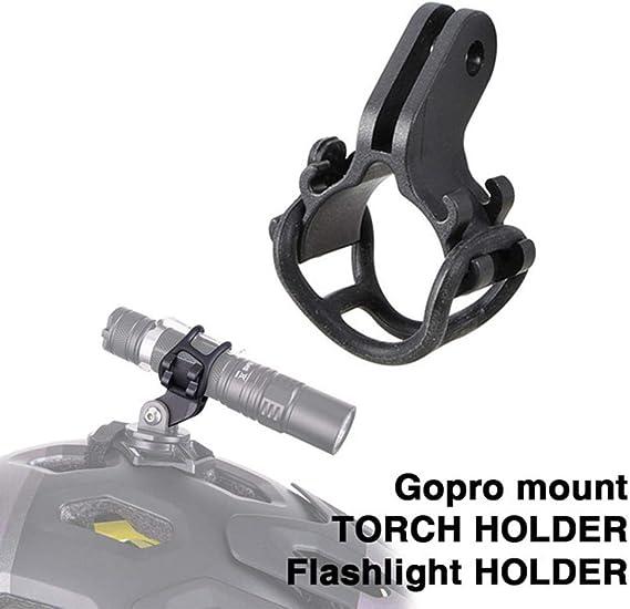 Fahrrad Light Torch Halter Taschenlampe Halterung für Gopro montieren AB