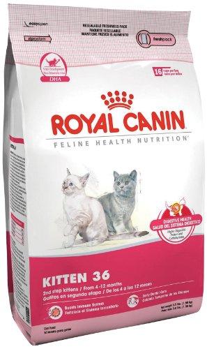 Royal Canin Kitten Dry Cat Food, 15-Pound Bag