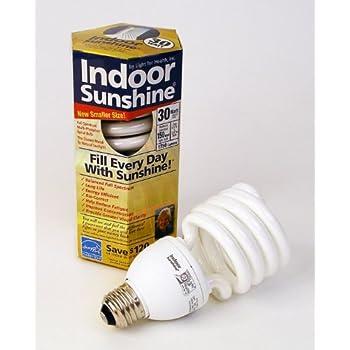 Amazon Com Indoor Sunshine Single 15 Watt Spiral Bulb By