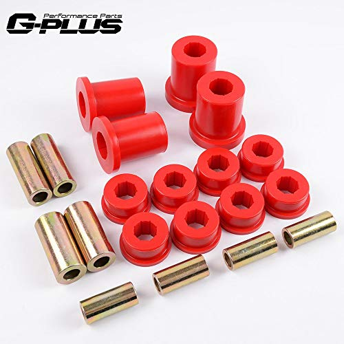 Red 18-207 For Front Control Arm 1992-1996 Lexus SC 300 SC 400 1993-1998 Toyota Supra Upper&Lower Bushing Kit