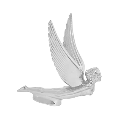 Grand General 48110 Chrome Flying Goddess Hood Ornament: Automotive