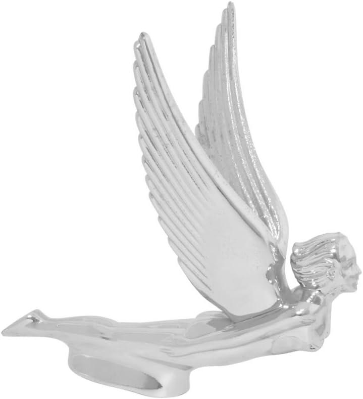 Flying Lady Hood Ornament Chrome