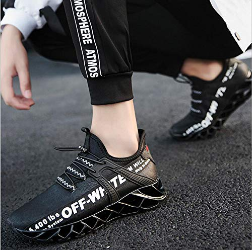 71aeb9fc7a2 Black Hombres Para De Informales Yaxuan Jogging Fitness Amortiguadores  Deportivas Velvet Calzados Plus Gimnasio Zapatillas Ligeras ...