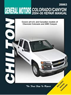 chevrolet colorado/gmc canyon (chilton): 2004-12: 9781620920916:  amazon.com: books  amazon.com