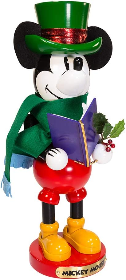 Kurt Adler Disney Steinbach Mickey Mouse Nutcracker Christmas Décor, STD, Multicolored