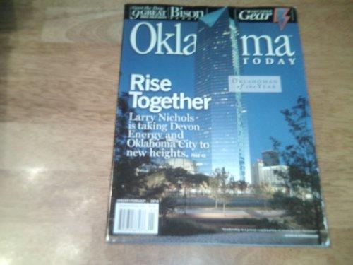 Oklahoma Today Magazine  January February 2013 Larry Nichols Of Devon Energy On Cover  Oklahoman Of The Year Issue