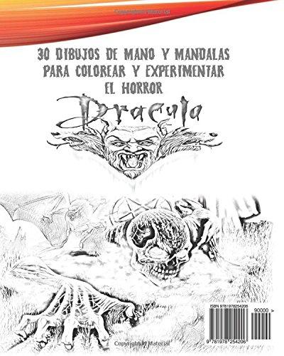 Dracula libro de colorear libre de estrés Libro de colorear para ...