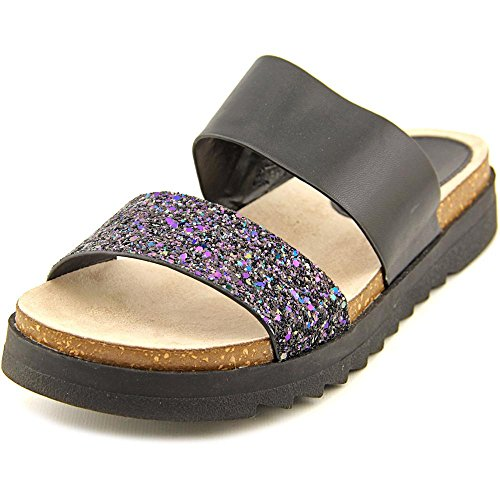 NOTFOUND, Clogs Frauen Black Glitter Synthetic