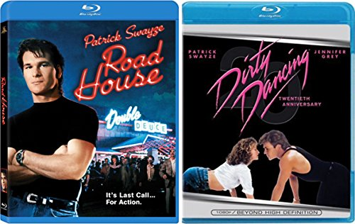Dirty Dancing & Road House Patrick Swayze Collection Blu Ray Movie Set