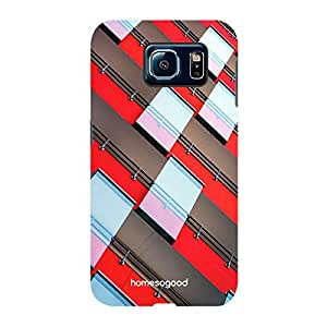 HomeSoGood Steps To Follow Multicolor Case For Samsung S6 ( Back Cover)