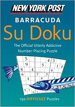 Book New York Post Barracuda Su Doku: 150 Difficult Puzzles (New York Post Su Doku (Harper))