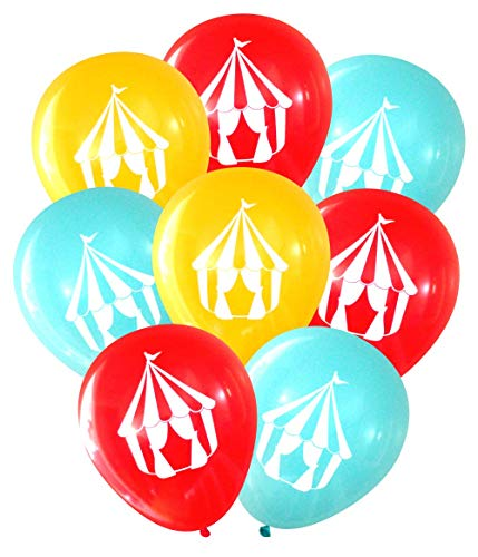 (Nerdy Words Carnival Circus Tent Balloons (16)