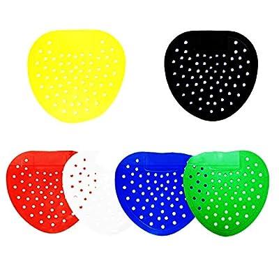 Urinal Screen Urinal Deodorizer Mat 6 Colors 30 Pieces