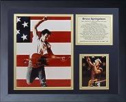 Legends Never Die Bruce Springsteen Framed Photo Collage, 11 x 14-Inch