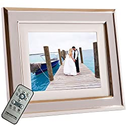Pandigital 72-M02T 8-Inch Touchscreen Digital Picture Frame (Beige)