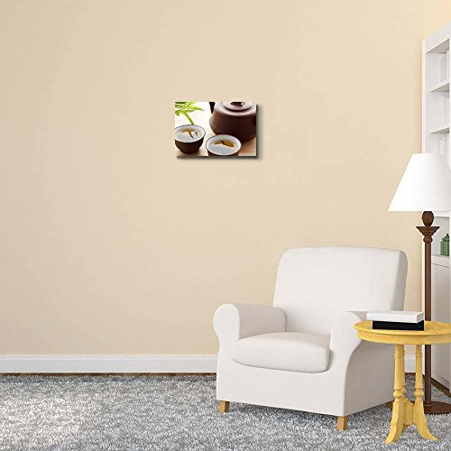 Still Life Green Tea and Tea Cup Wall Decor