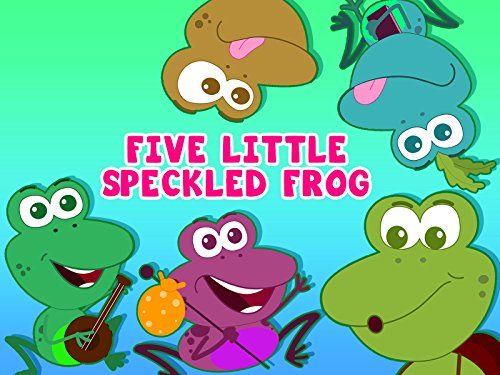 Five Little Speckled Frog (Nursery Rhymes Frogs)