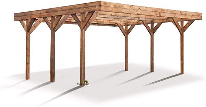 Madeira – Madeira – Carport 2 voiturse madera tratada a presión ...
