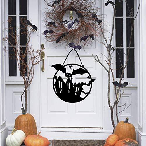Beyonds Halloween Door Hanging Decorations, Witch Ghost Hanging Pendant Halloween Party Decorations Home Indoor Outdoor Garden Door Wall Bar Decor Supplies ()