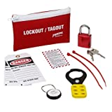 Brady LK627E, 45601 Standard Lockout Belt Pack, 3 Kits