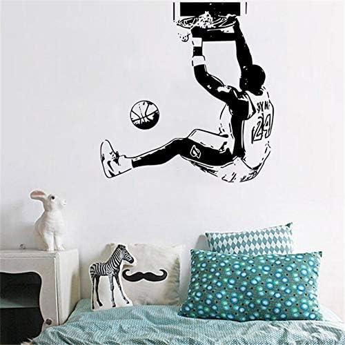 pegatinas de pared NBA Baloncesto Estrella Kobe Dunk Home Decor ...