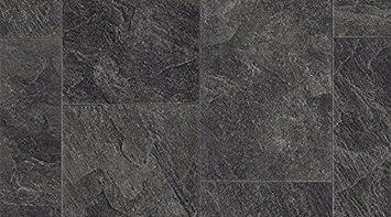 Vinyl Fußboden Steinoptik ~ Flur vinyl cushion höhe 1 mt u2013 steinoptik schwarz schiefer u2013 dicke 3