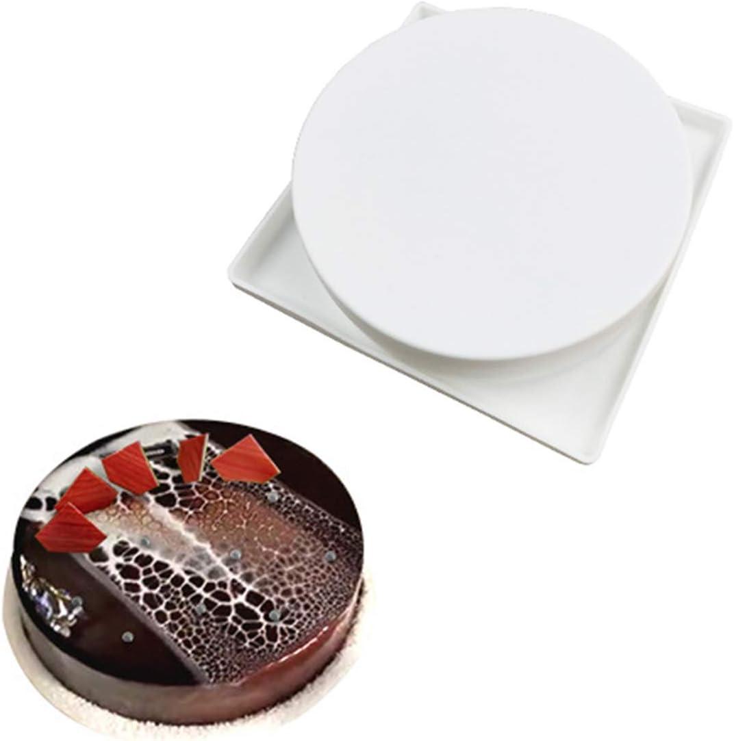 1St/ück 3D 8Hohlr/äume Ei 3D Mousse Form Kuchenform Silikonform f/ür Schokoladen Franz/ösisch Dessert Torten Eisw/ürfel Seife Gelee Muffin Kuchen Backen