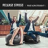Trideer Ball Chair – Exercise Stability Yoga Ball