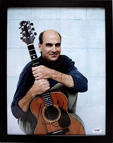 - James Taylor 11x14 Photo in Frame Auto Signed Autographed PSADNA #P91437