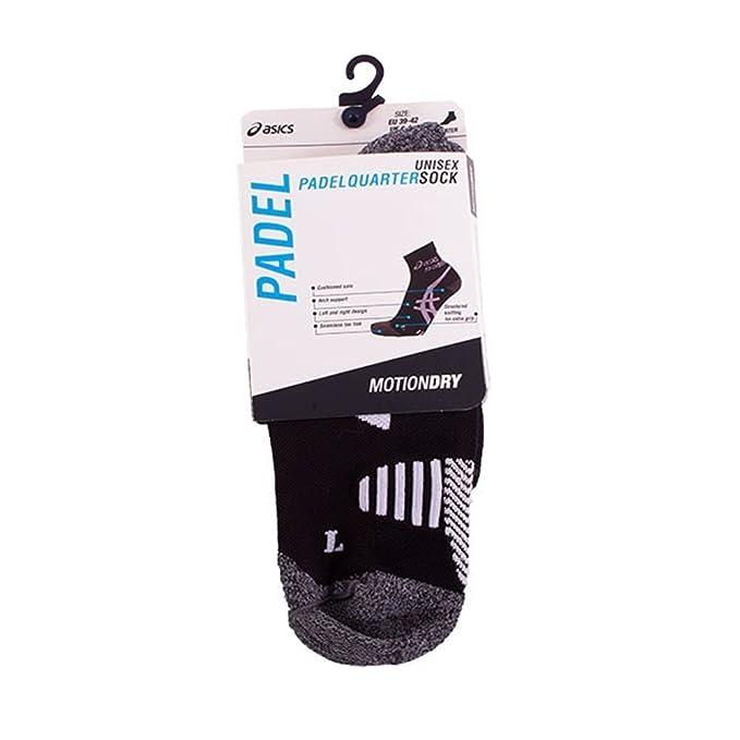 ASICS - Padel Quarter Sock, Color 0, Talla EU 39-42: Amazon ...