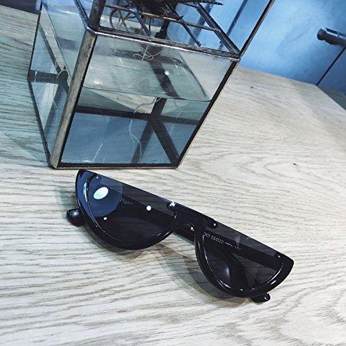Aoligei Oeil de chat petite boîte fashion lunettes de soleil lunettes triangulaire transparent européens et américains lunettes de soleil de marée bVjr1uO
