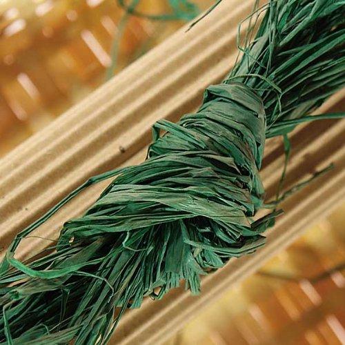 8oz Grass Green Raffia (Green Raffia Grass)