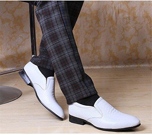 Autunno C uomo Slip Comfort Primavera Scarpe guida da Mocassini Leather Business BTq1F1w