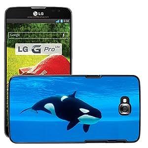 Print Motif Coque de protection Case Cover // V00002204 Ballena asesina // LG G Pro Lite D680