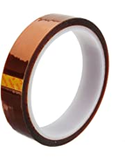 Demarkt 20mm 100ft Heat Resistant 280℃ Ruban Polyimide KAPTON Tape Rouleau