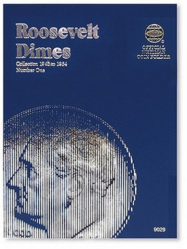 Roosevelt Dimes Folder 1946-1964 (Official Whitman Coin Folder)