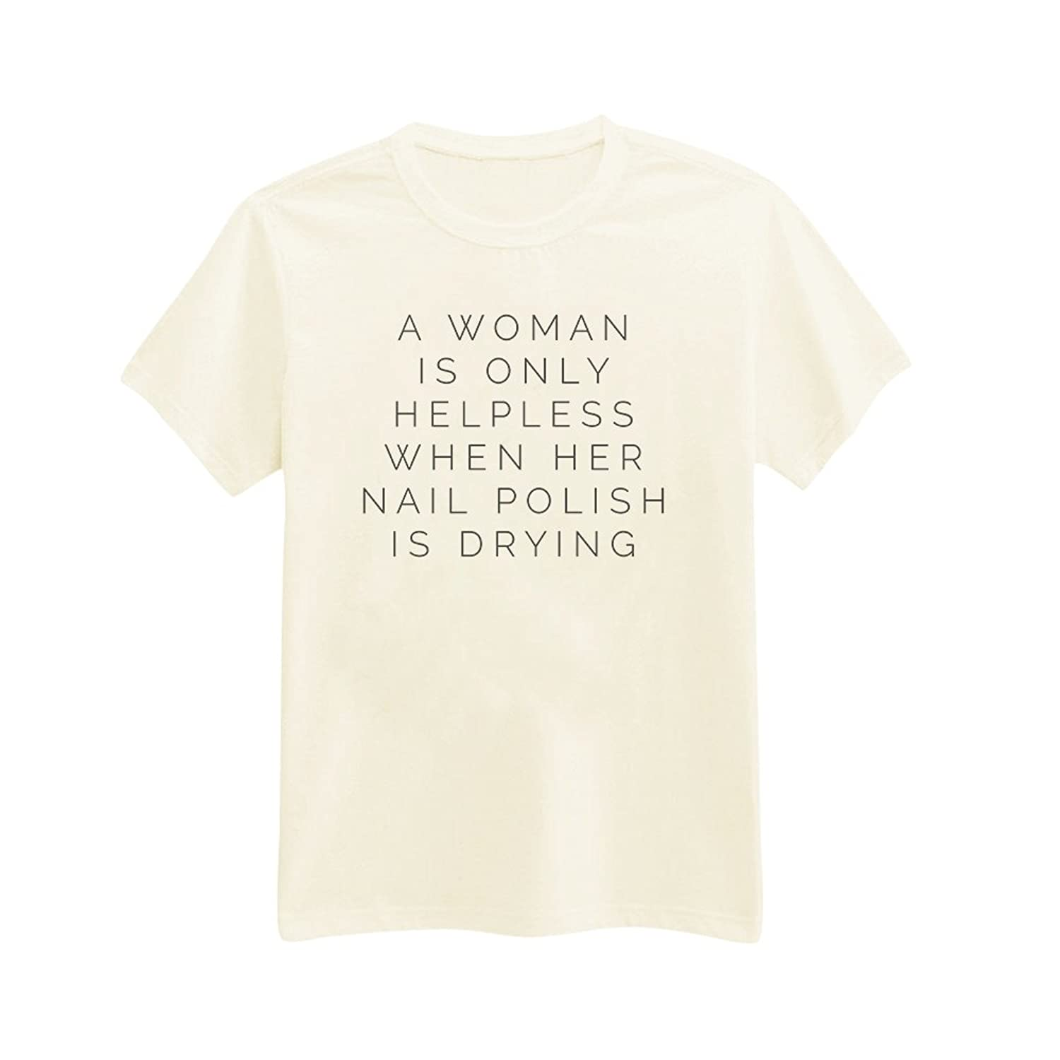 ca123ad3 Amazon.com: Andre's Designs Unisex Adult's Nail Polish Problem - Struggle - Funny  T-Shirt: Clothing