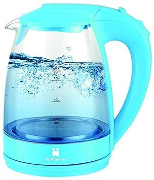 1,7L Glas Wasserkocher Glaswasserkocher 2200W LED-Beleuchtung Glass Wasserkocher