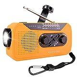 Emergency Radio, NOAA Radio, Portable Hand Crank